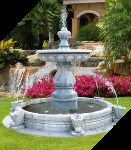 Садовые фонтаны ручной работы
