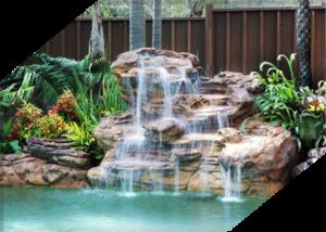 Искусственный водопад в Краснодаре